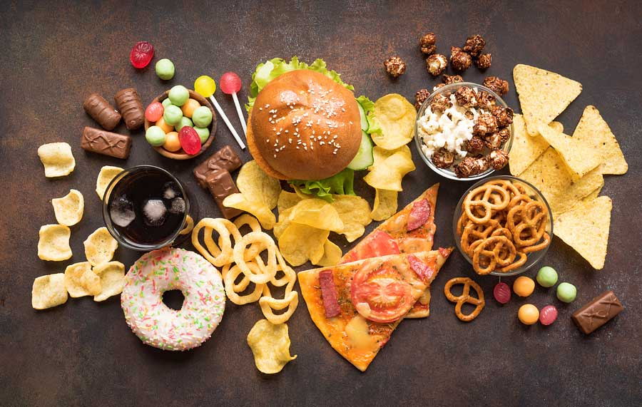 Transfats are found in what foods