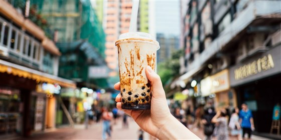 """""""Bubble tea"""" can clog the intestines or not?"""